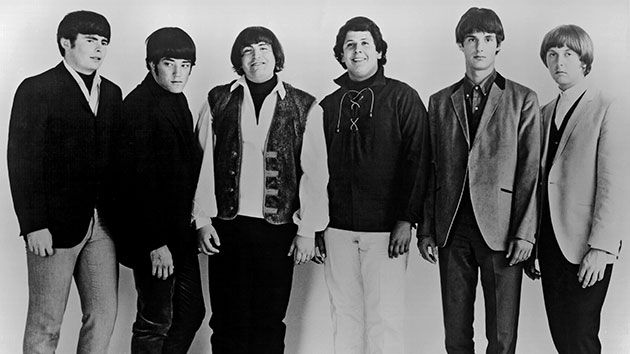 The Turtles in 1966 with Jim Tucker, second from right; Michael Ochs Archives/Getty Images
