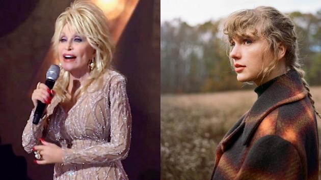Dolly: 2020 Billboard Women In Music/Getty Images for Billboard; Taylor: Beth Garrabrant