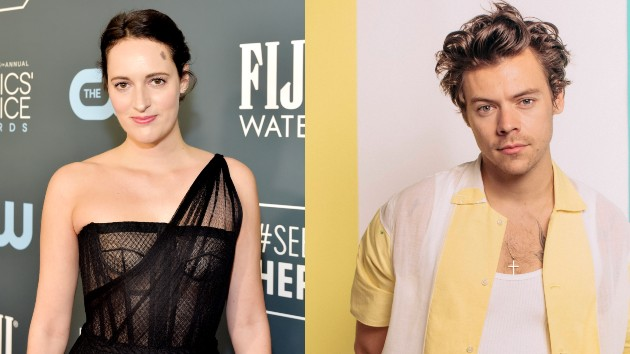 Phoebe Waller-Bridge: Stefanie Keenan/Getty Images for FIJI Water; Harry Styles:  hélène marie pambrun