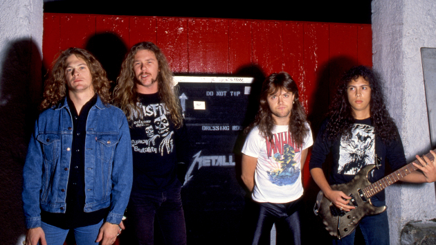 Metallica in 1984; Fryderyk Gabowicz/picture alliance via Getty Images