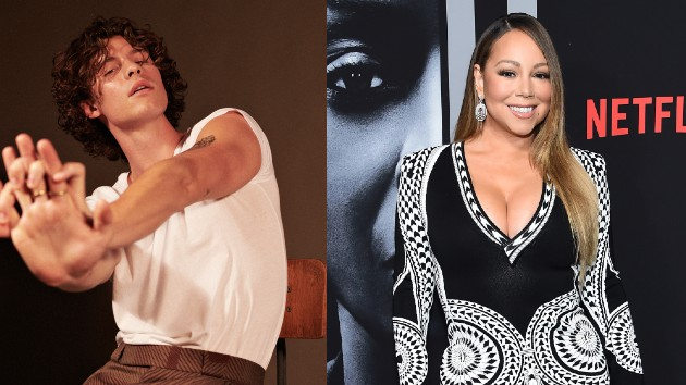 Shawn: Glen Luchford; Mariah: Jamie McCarthy/Getty Images