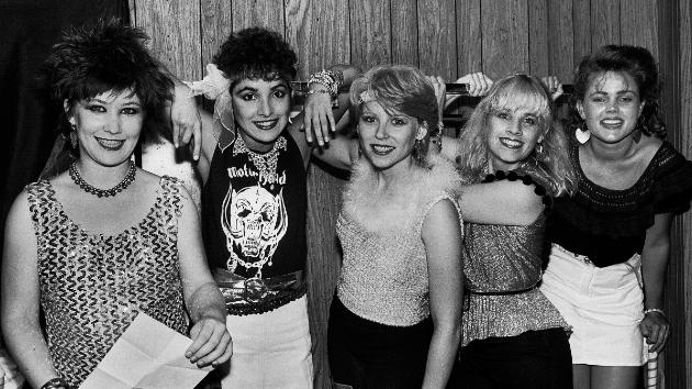 The Go-Go's in 1981; Paul Natkin