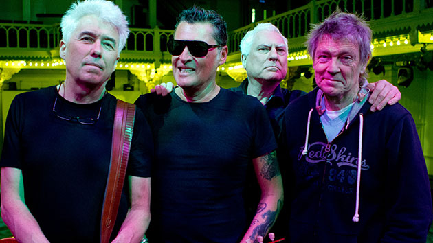 L-R: George Kooymans, Barry Hay, Cesar Zuiderwijk, Rinus Gerritsen of Golden Earring in 2012; Paul Bergen/Redferns