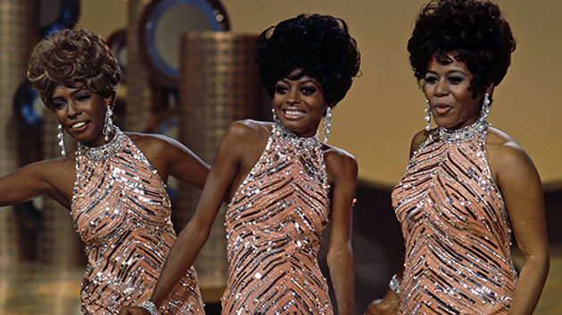 L-R: Cindy Birdsong, Diana Ross and Mary Wilson of The Supremes; Silver Screen Collection/Getty Images