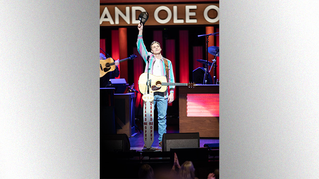 Chris Hollo for the Grand Ole Opry