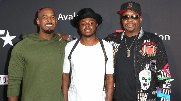 Landon Brown, Bobby Brown Jr., Bobby Brown; Maury Phillips/Getty Images for BET
