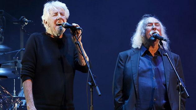 Graham Nash and David Crosby in 2015; Chiaki Nozu/Getty Images
