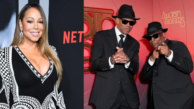 Mariah: Dimitrios Kambouris/WireImage; Jam & Lewis: Leon Bennett/STA 2020/Getty Images for BET