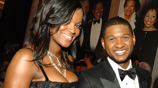 Usher and Tameka Foster in 2007; Moses Robinson/WireImage