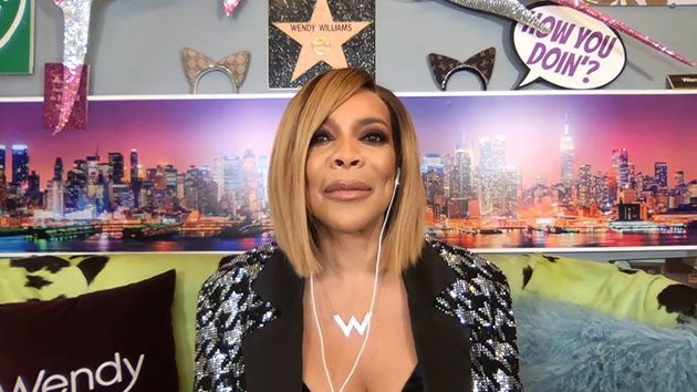 """Wendy Williams on """"Watch What Happens Live with Andy Cohen"""" in January, 2021; Bravo"""