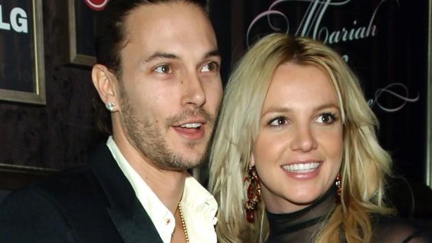 Britney and then-husband Kevin Federline in 2006;  J.Sciulli/WireImage for Ogilvy Public Relations